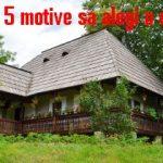 5 motive sa alegi o casa la tara