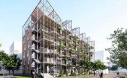 Cladirea rezidentiala va avea sera in loc de acoperis.